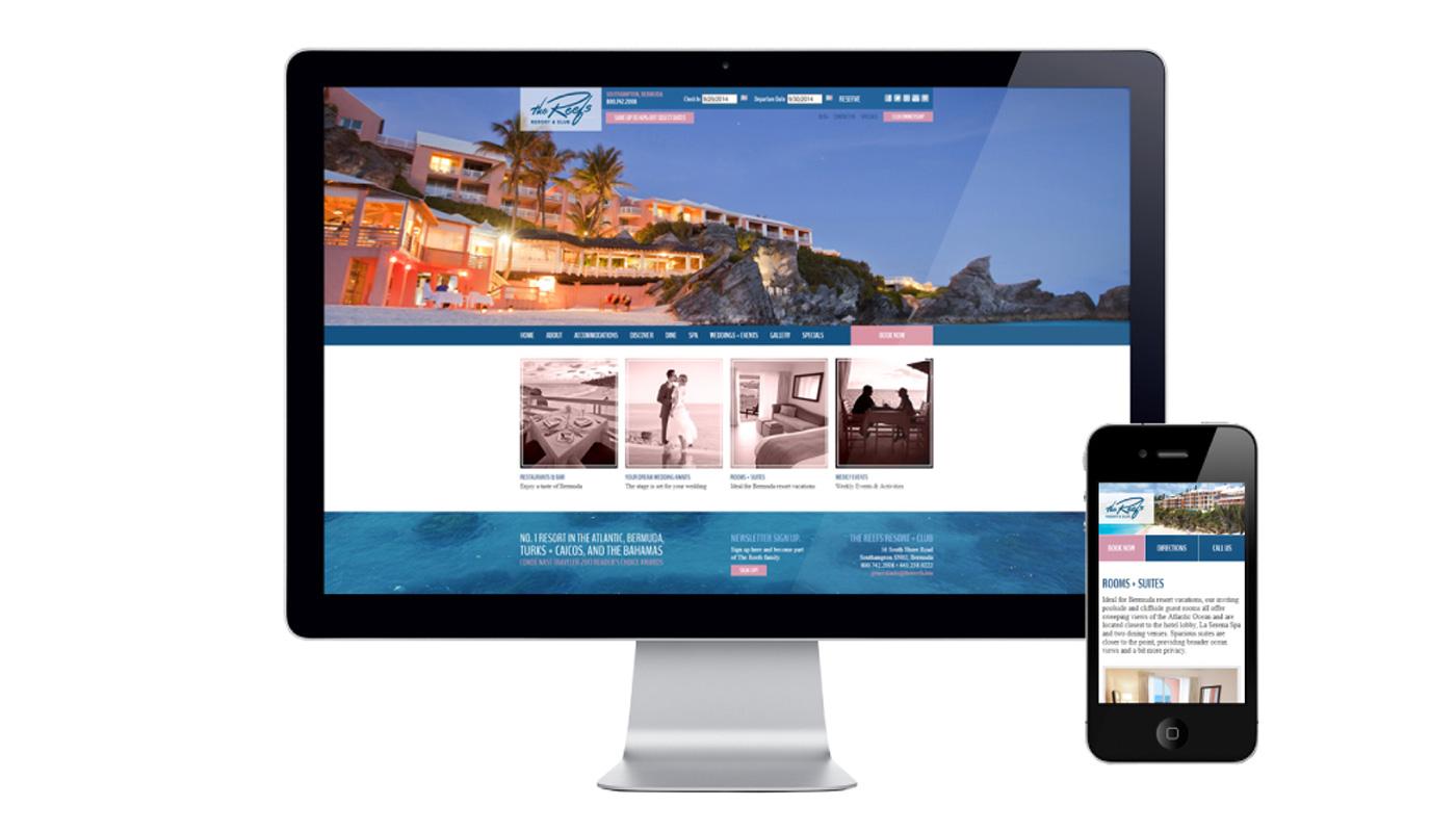 The Reefs Website Development