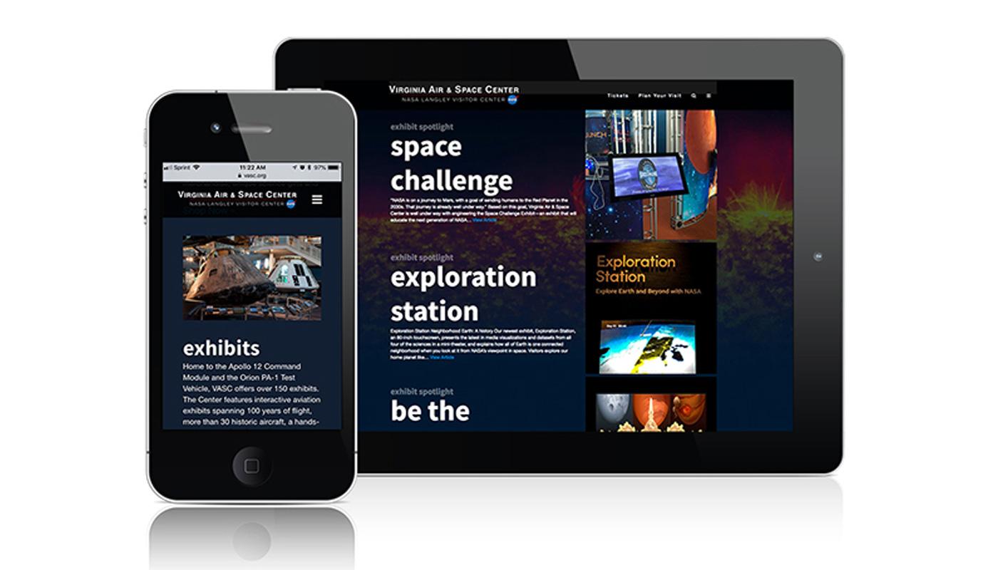 Virginia Air & Space Center Website